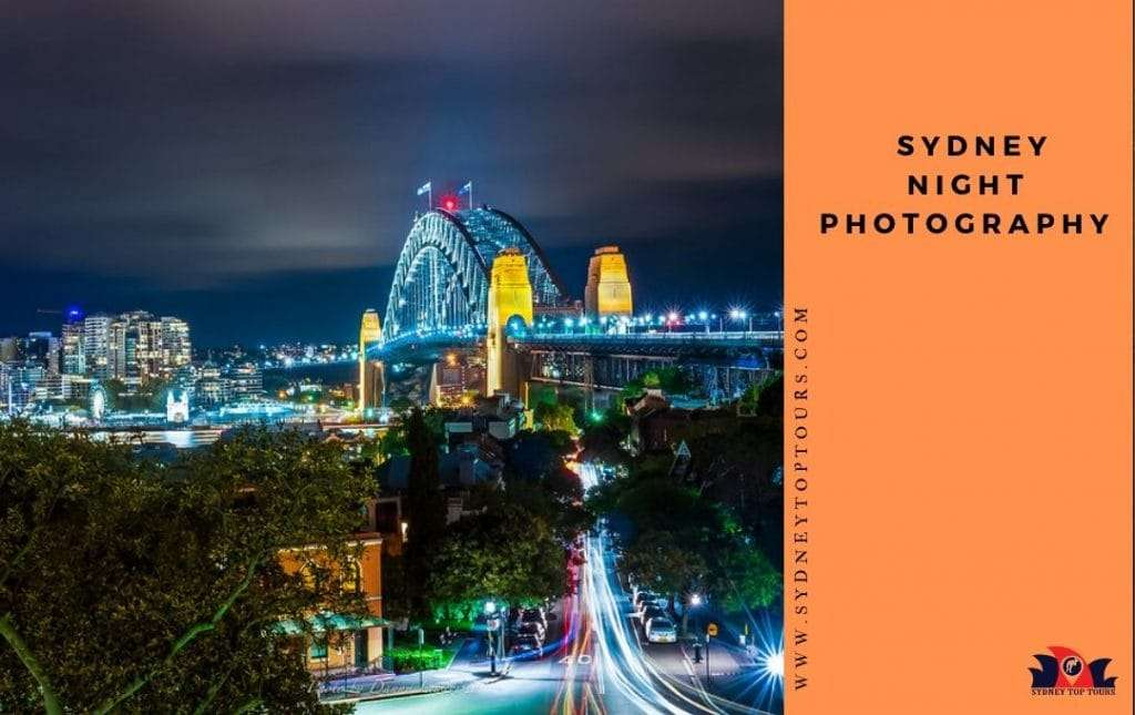 Sydney night photography