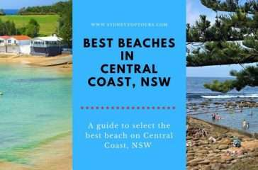 beaches in Central Coast, NSW